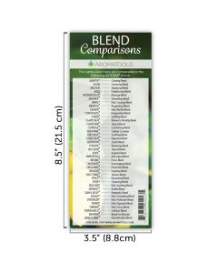 doTERRA Blends/Generic Names Comparison Bookmark, 12th Edition (Pack of 10)