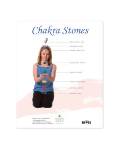 """Guide to Chakras and Chakra Stones"" Chart"