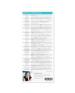 """Essential Oils and the Brain"" Reference Cards (Pack of 25)"