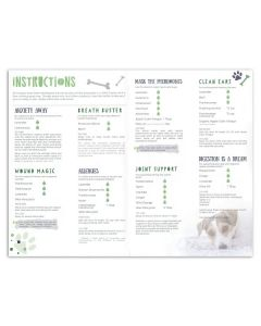 """My Makes """"Pet Sprays for Dogs"""" Recipes and Label Set"""