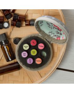 Best Value Oil Lock Label Set for doTERRA Sample Vials (480 Circle/240 Rectangle)