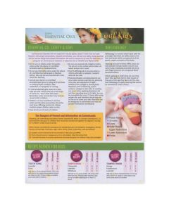 """Using Essential Oils with Kids"" Recipe Tear Pad (25 Sheets)"