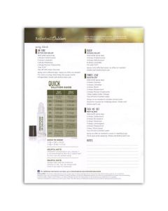 """Rollerball """"Outdoor"""" Recipe Sheets (Pack of 25)"""