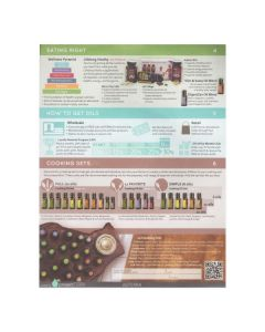 Cooking with Essential Oils Tear Pad (50 Sheets)