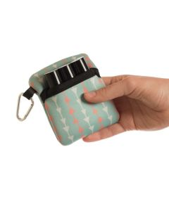 Aroma Ready Fold-over Case for Roll-ons (Holds 3 Vials)