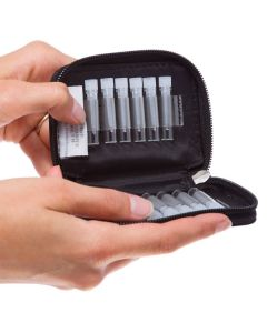 doTERRA Branded 1/6 dram Sample Case (Holds 12 Vials)