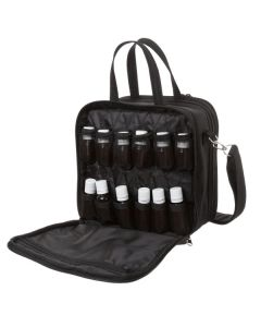 Black Aroma Ready Compact Versatile Aromatherapy Case (Holds 60 Vials)