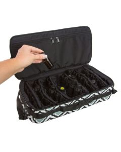 """Dr. Mom"" Extra-Large Essential Oil Carrying Case (Holds 60 Vials)"