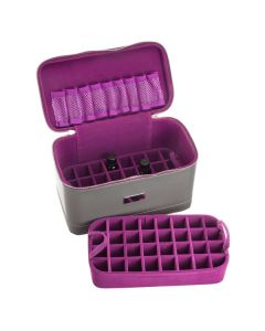 Double-tiered Train Case (Holds 73 Vials)