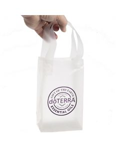 Small, Frosted doTERRA Seal Plastic Gift Bags (Pack of 5)