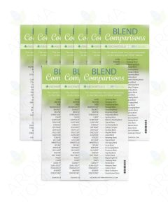 doTERRA Blends/Generic Names Comparison Bookmark, 9th Edition (Pack of 10)