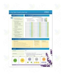 """""""My Fast Track Planner"""" Charts (Pack of 10)"""