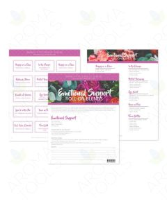"""Emotional Support"" Make-It-Yourself Recipes and Label Set"