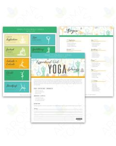 """Yoga Sprays"" Make-It-Yourself Recipes and Labels"