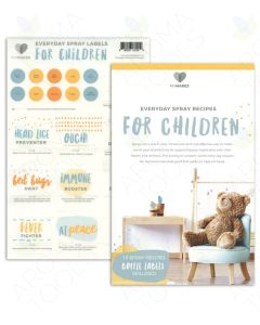 "My Makes ""For Children"" Spray Recipes and Label Set"