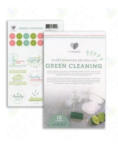 "My Makes ""Green Cleaning"" Recipes and Label Set"