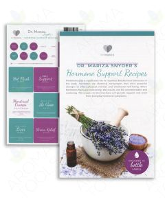 "My Makes ""Dr. Mariza Snyder's Hormone Support"" Recipes and Label Set"