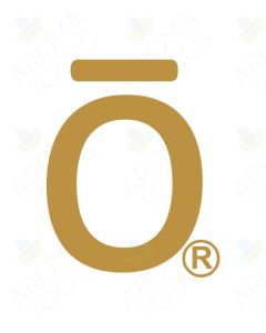 "Gold doTERRA ""O"" Vinyl Label"