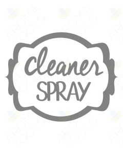 ~Cleaner Spray