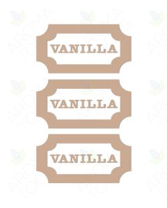 Vanilla Vinyl Labels (Sheet of 3)