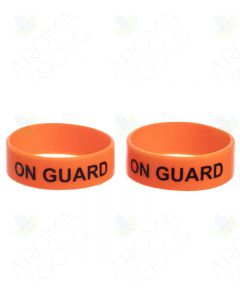 "Essential Oil Label Bandz: ""On Guard"" for 1 to 8 oz. Bottles (Pack of 2)"