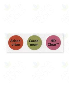 Circle Label Set #16: Arborvitae, Cardamom, and HD Clear (Sheet of 3)