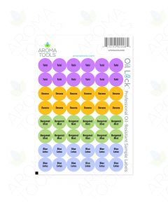 Oil Lock Circle Labels for 2020 Oils (Sheet of 48)