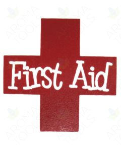 First Aid Vinyl Label