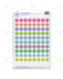 "Rollerball ""Babies & Mamas"" Sticker Tops Set (Sheet of 88)"