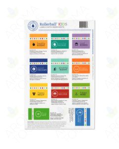 "Rollerball ""Kids"" Assorted Label Set (Sheet of 11)"