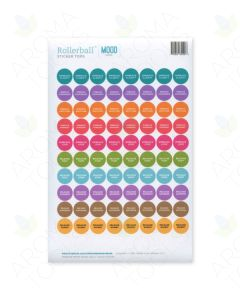 "Rollerball ""Mood Series"" Sticker Tops Set (Sheet of 88)"