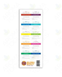 """Assorted """"Rollerball Mentality"""" Labels (Sheet of 10)"""