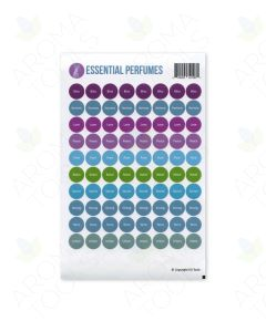 """Essential Perfumes"" Lid Stickers (Sheet of 88)"