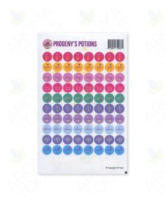 """Progeny's Potions"" Sticker Tops (Sheet of 88)"