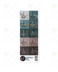 """Essentially Well"" Assorted Waterproof Vial Labels (Sheet of 10)"
