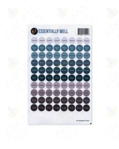 """Essentially Well"" Sticker Tops (Sheet of 88)"