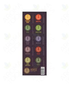 """Essential Oils for Horses"" Assorted Label Set (Sheet of 10)"
