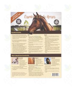 """Essential Oils for Horses"" Recipe Tear Pad (25 Sheets)"