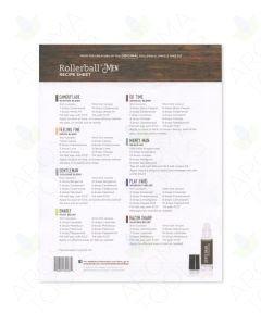 """Rollerball """"Men"""" Recipe Sheets (Pack of 25)"""