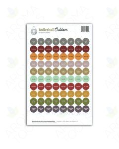"Rollerball ""Outdoor"" Lid Stickers (Sheet of 88)"