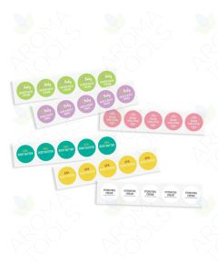 Sample Body Care Labels (Set of 30)