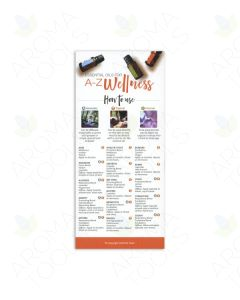 """Essential Oils for A-Z Wellness"" Reference Cards (Pack of 25)"