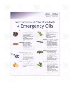 Emergency Oils Tear Pad (50 Sheets)