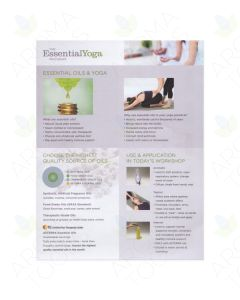 """The EssentialYoga Program"" Tear Pad (50 Sheets)"