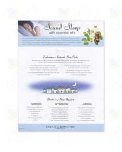 """Sound Sleep with Essential Oils"" Tear Pad (50 Sheets)"