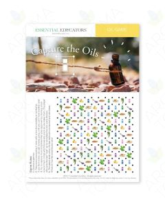 "Essential Educators: ""Capture the Oils"" Mini Tear Pad Game (50 Sheets)"