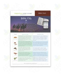 "Essential Educators: ""Bible Oils"" Mini Tear Pad (50 Sheets)"