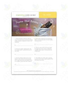 "Essential Educators: ""Name That Aroma"" Mini Tear Pad Games (50 Sheets)"