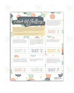 """2-Week Oil Challenge"" Tear Pad (50 Sheets)"