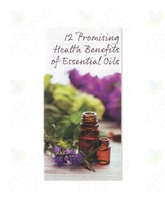 """12 Promising Health Benefits of Essential Oils"" Brochure (Pack of 25)"